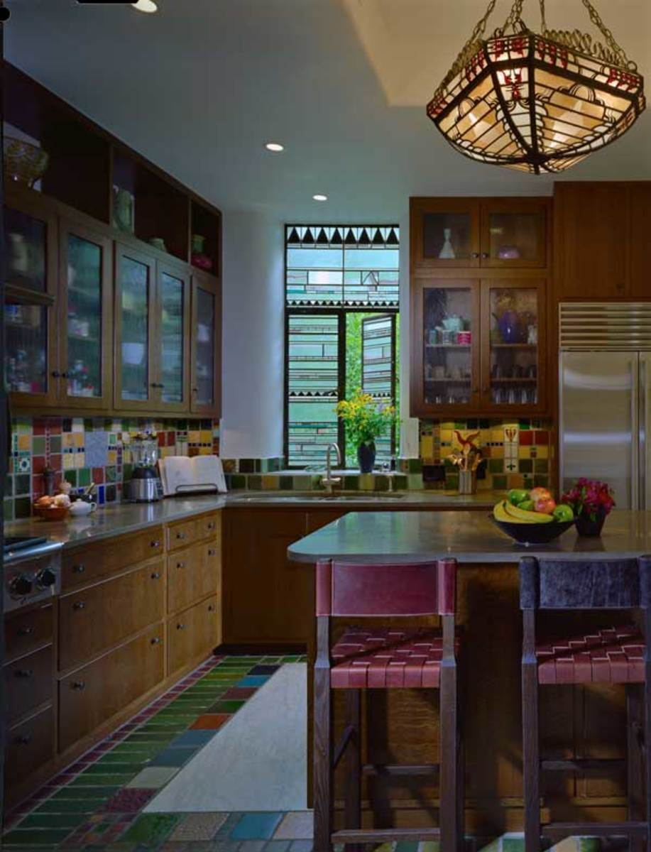 Quinn gently remodeled the kitchen in Studio 2—now the primary kitchen.