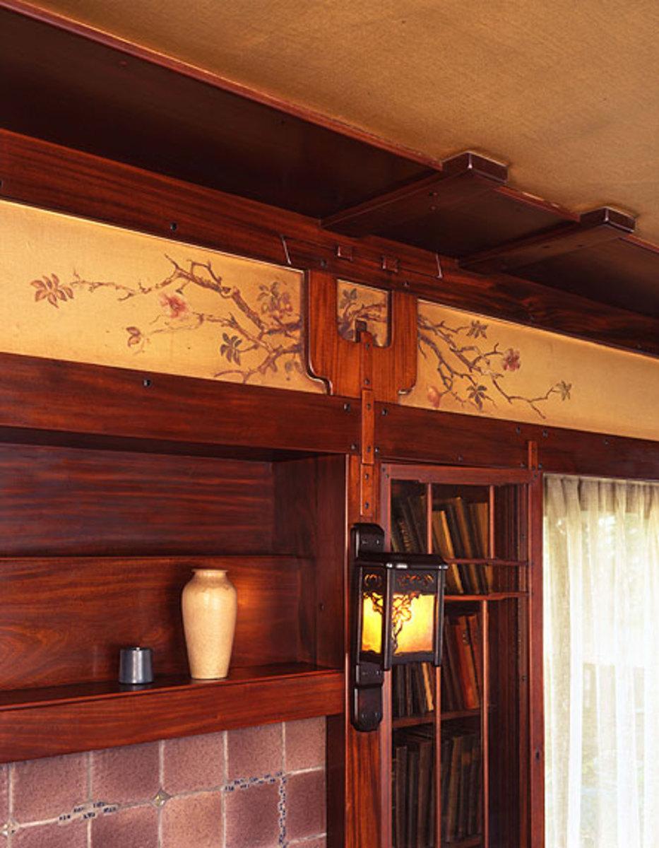 Greene & Greene ceiling