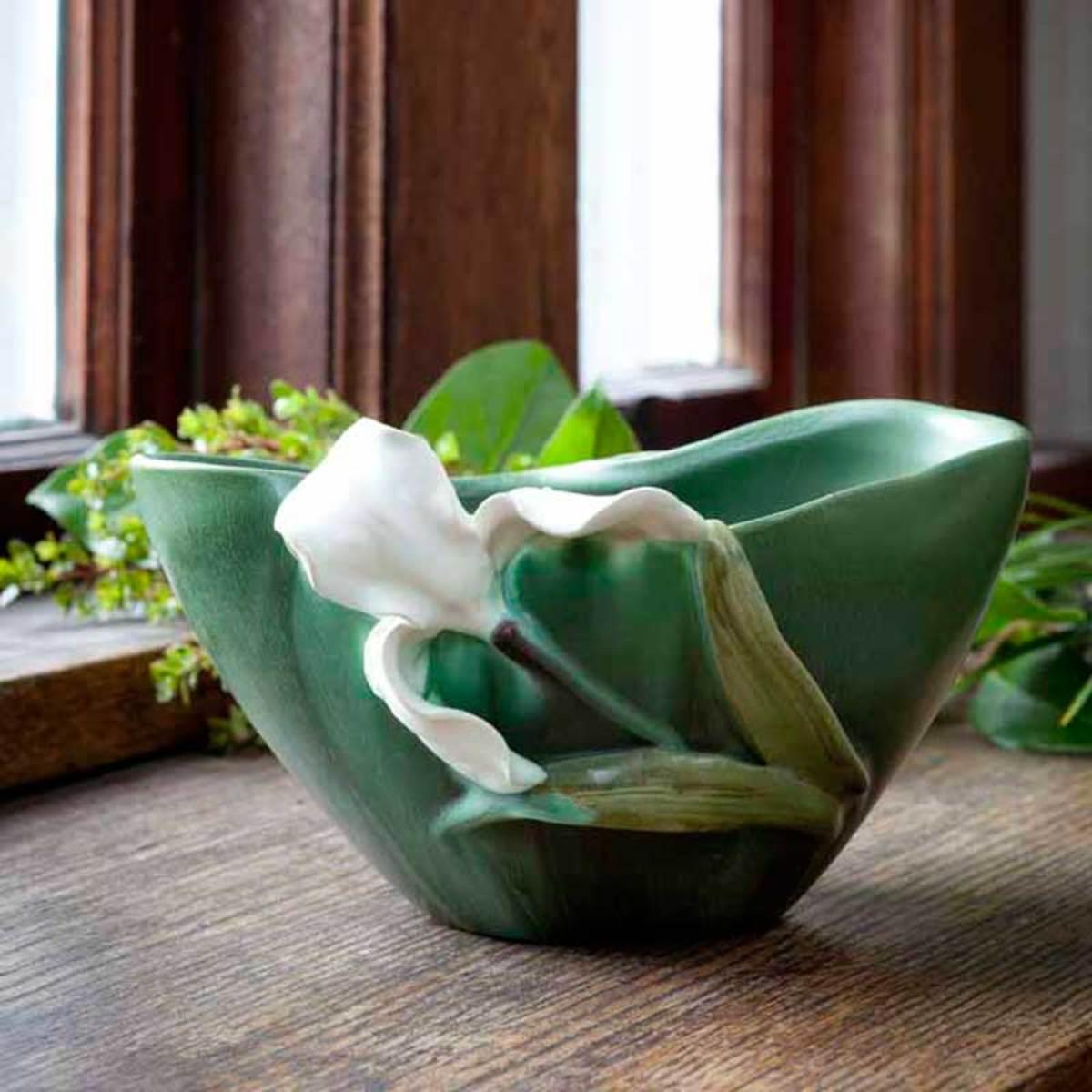 Springtime Iris Bowl