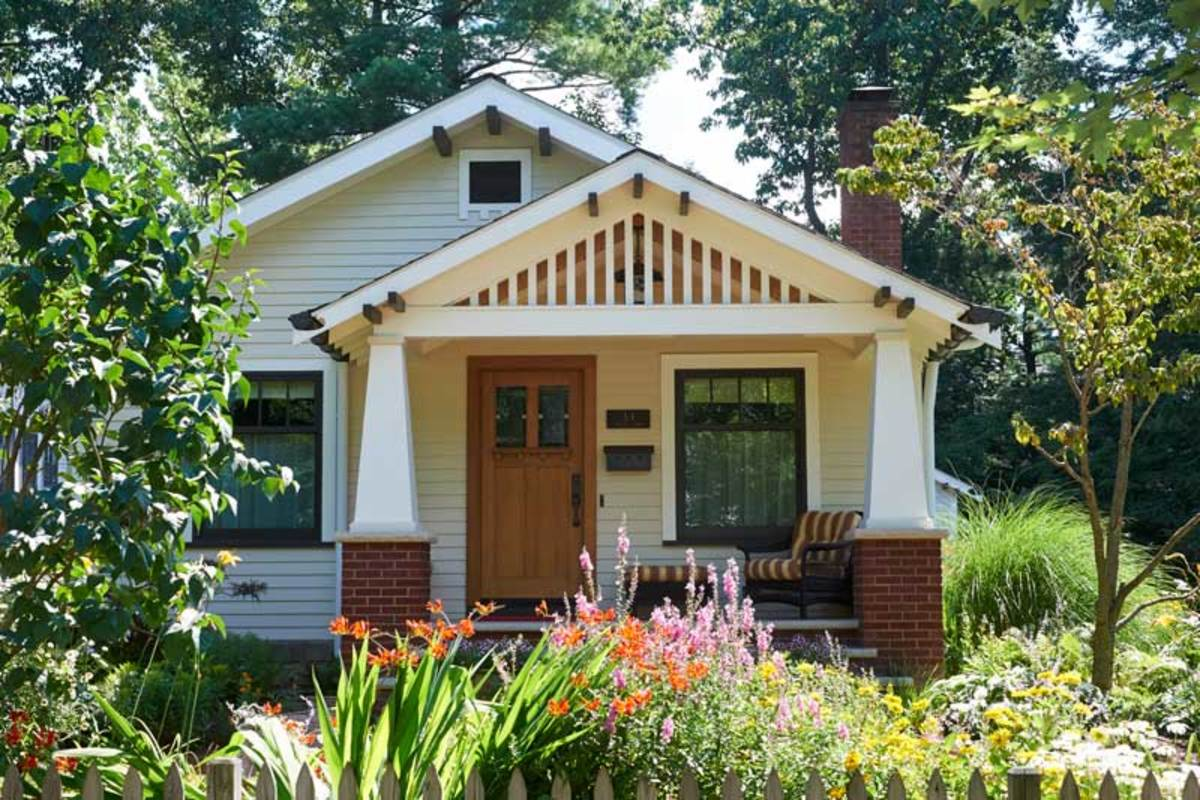 Drawn to a rescue design for the arts crafts house - What is a bungalow style home ...