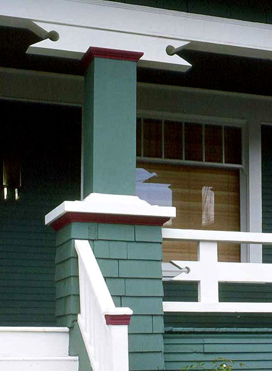 Porch Upkeep Tips Arts Amp Crafts Homes And The Revival