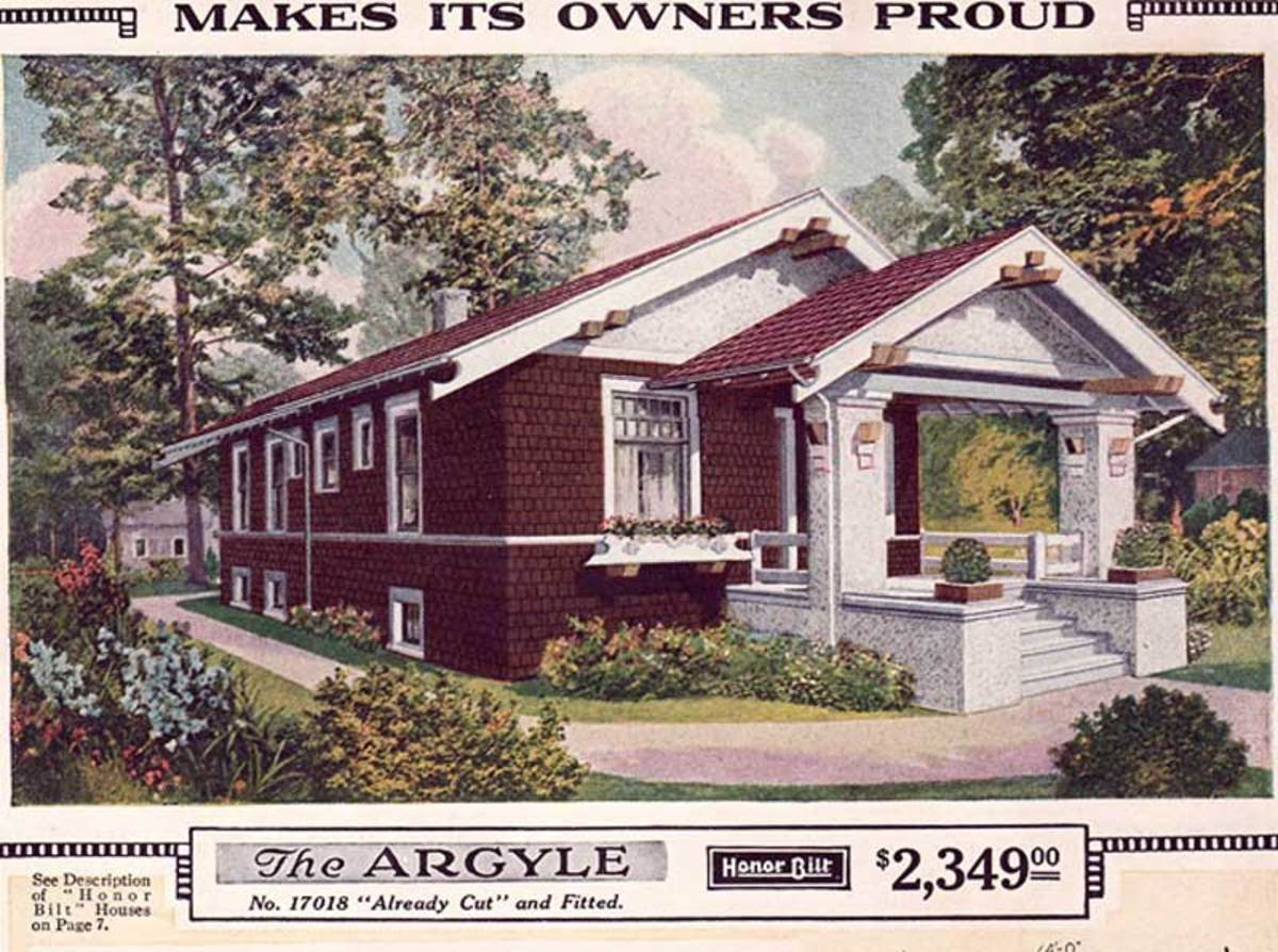 This Ohio bungalow is Sears kit home 'Argyle', a best-seller with just 1,008 square feet but many nice features, inside and out.