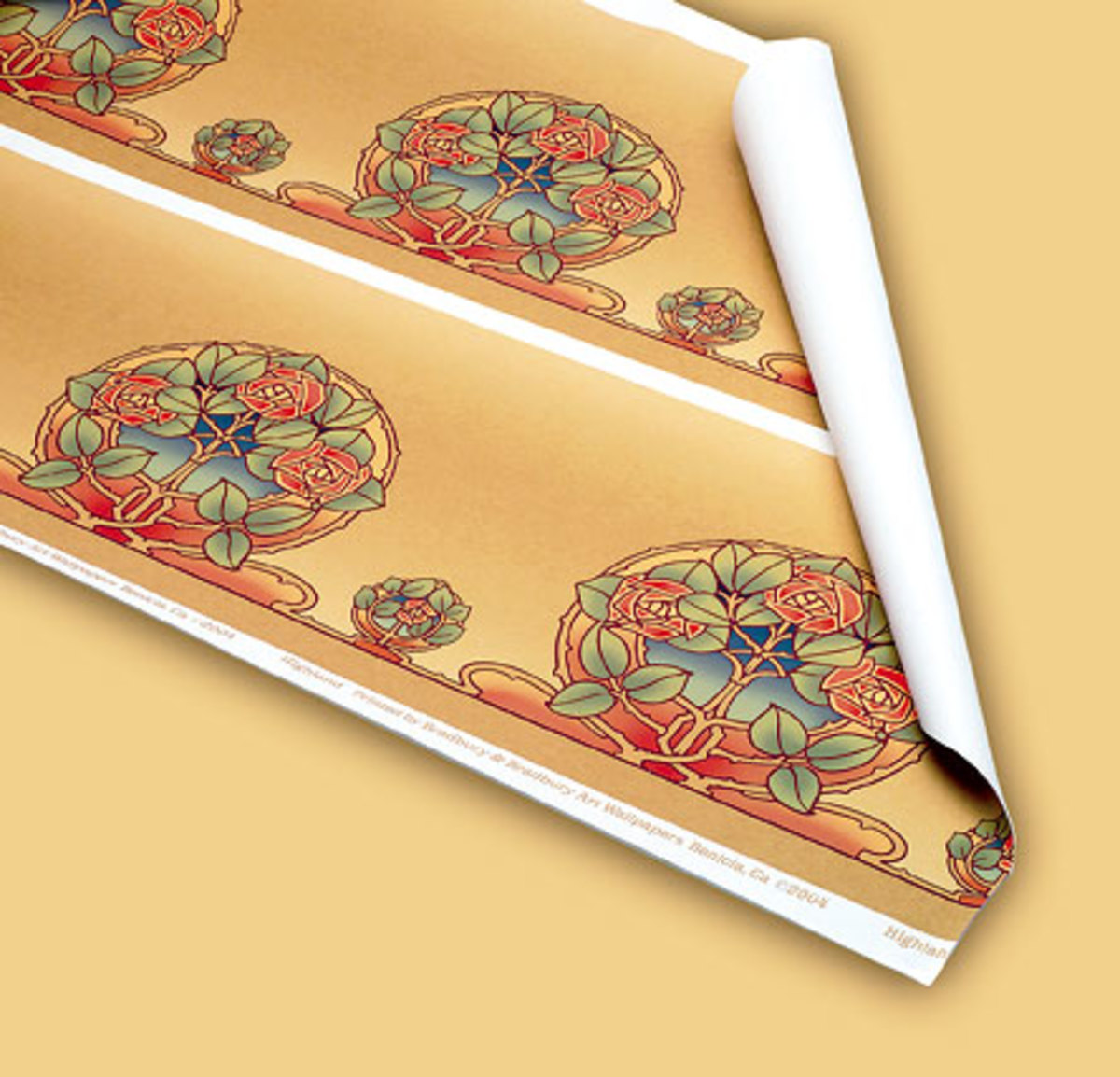 Bradbury   Bradbury. Arts   Crafts Revival Wallpaper and Paint Products   Arts   Crafts