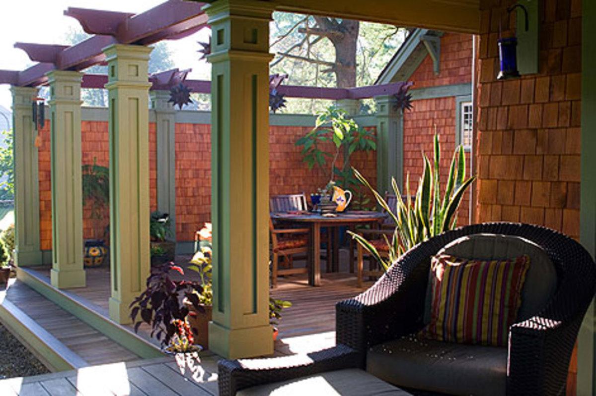 porch millwork