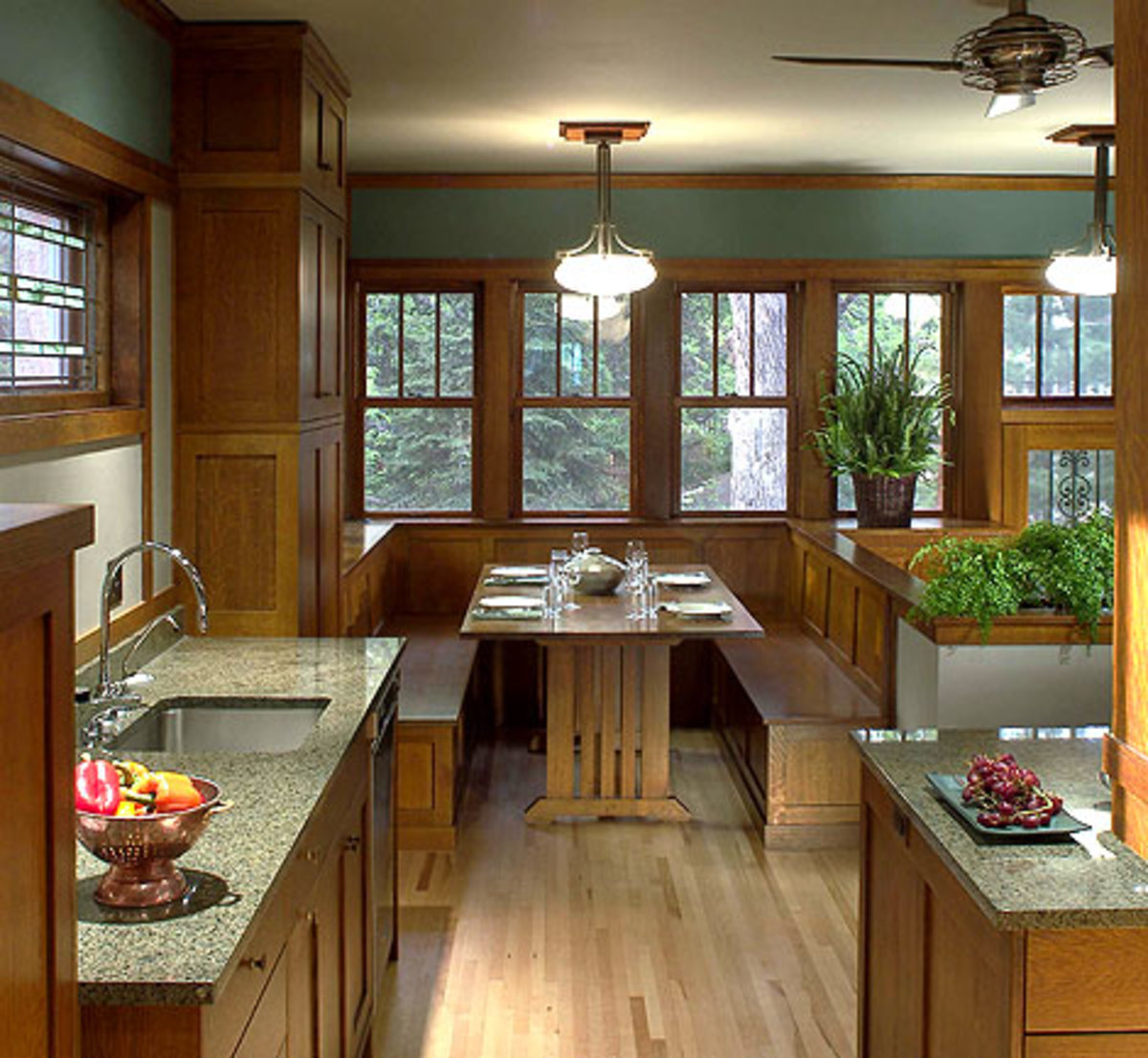 Millwork In Arts & Crafts Style Homes