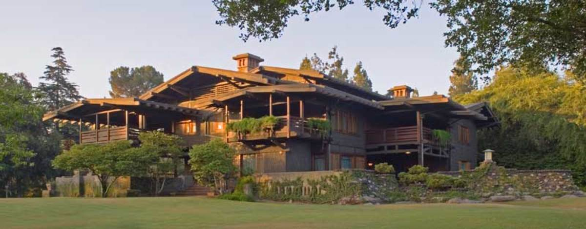 Greene & Greene's Gamble House. Photo by Alexander Vertikoff