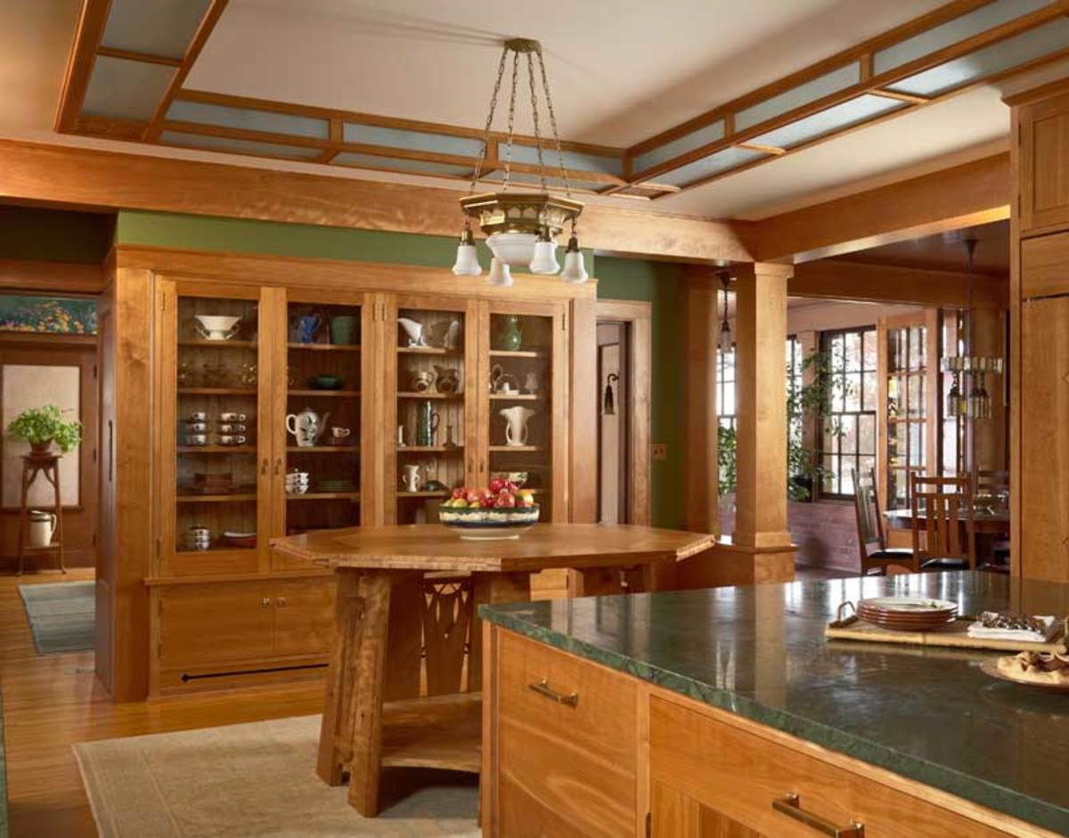 Kitchen of art and craft arts amp crafts homes and the revival