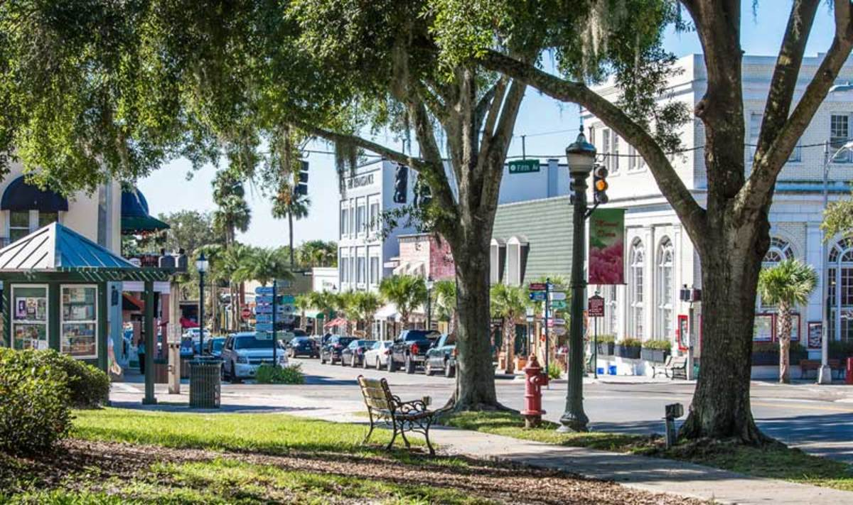 Mount Dora, Florida, is a historic tourist destination known for winter extravaganzas.