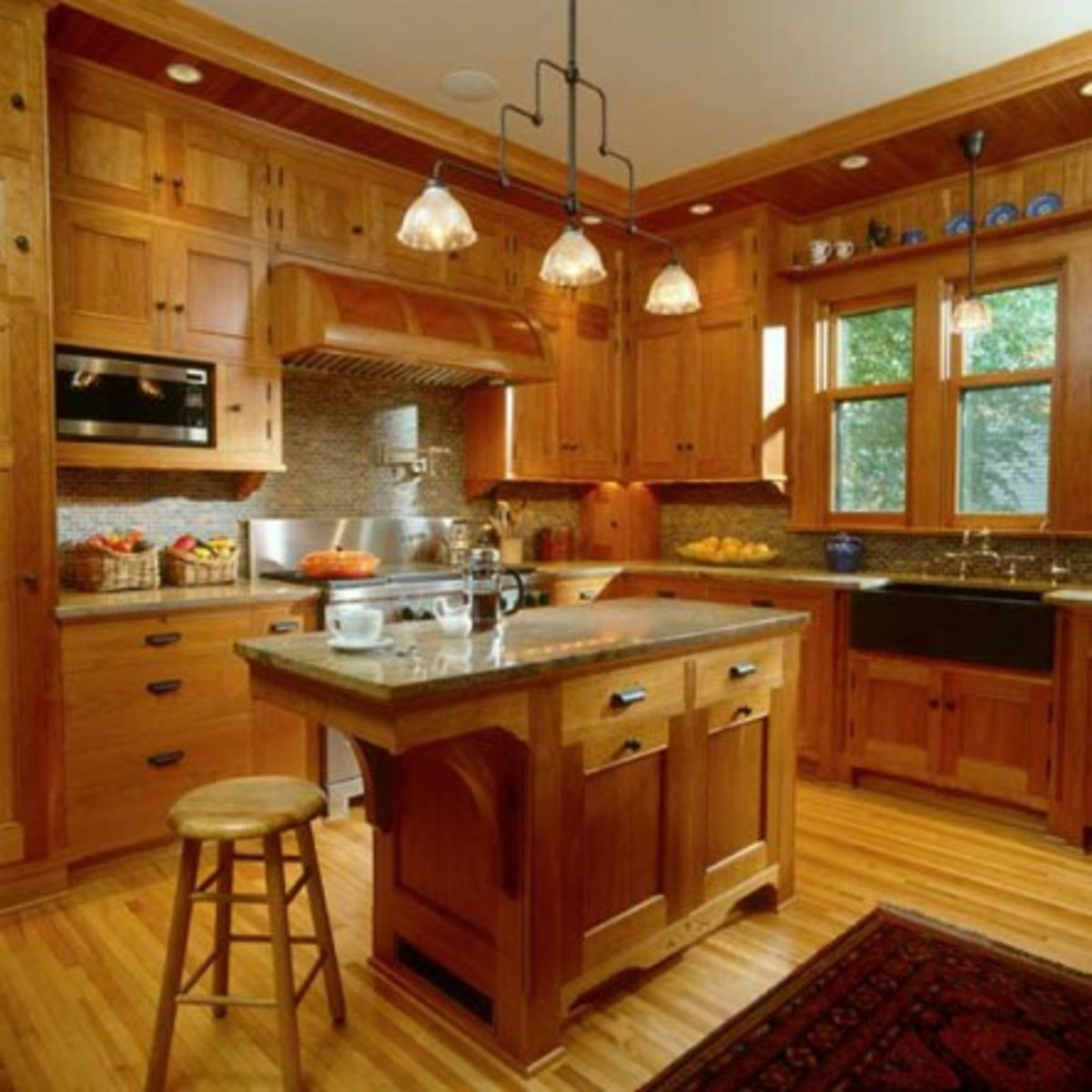 Douglas Fir Kitchen Cabinets