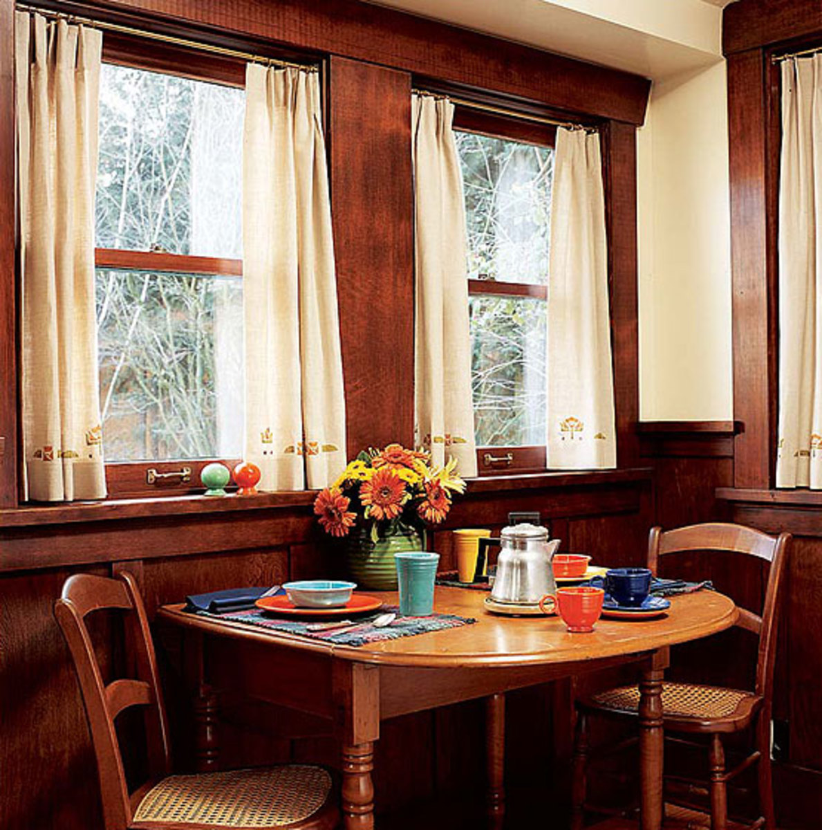 Breakfast Room In A 1916 Seattle Bungalow Simplicity ReignsPhoto By William Wright