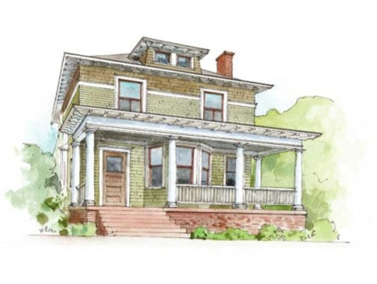 Exterior Paint Schemes For Foursquares