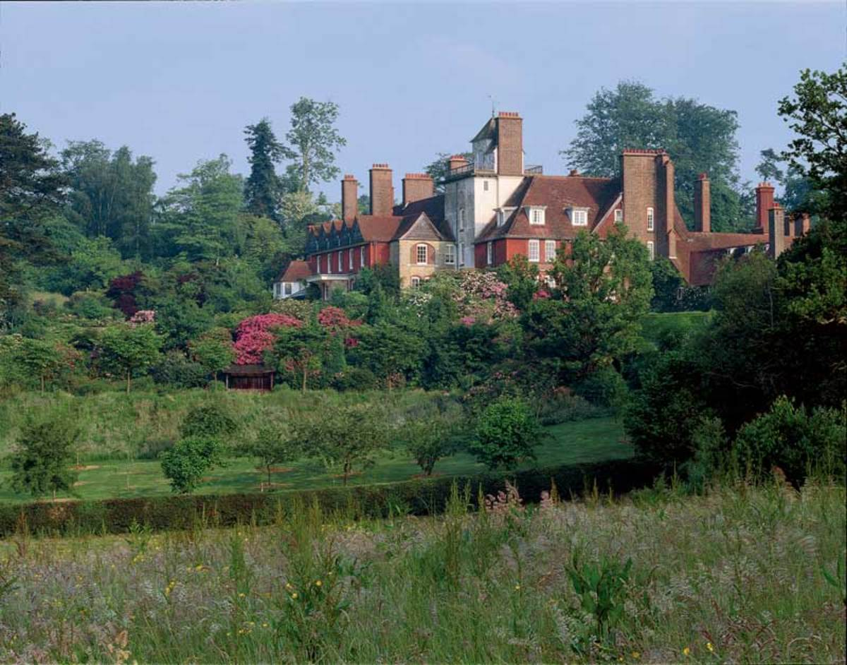 Philip Webb's interpretation of a medieval farmhouse on the grounds of a country estate resulted in Standen, built between 1892 and 1894.