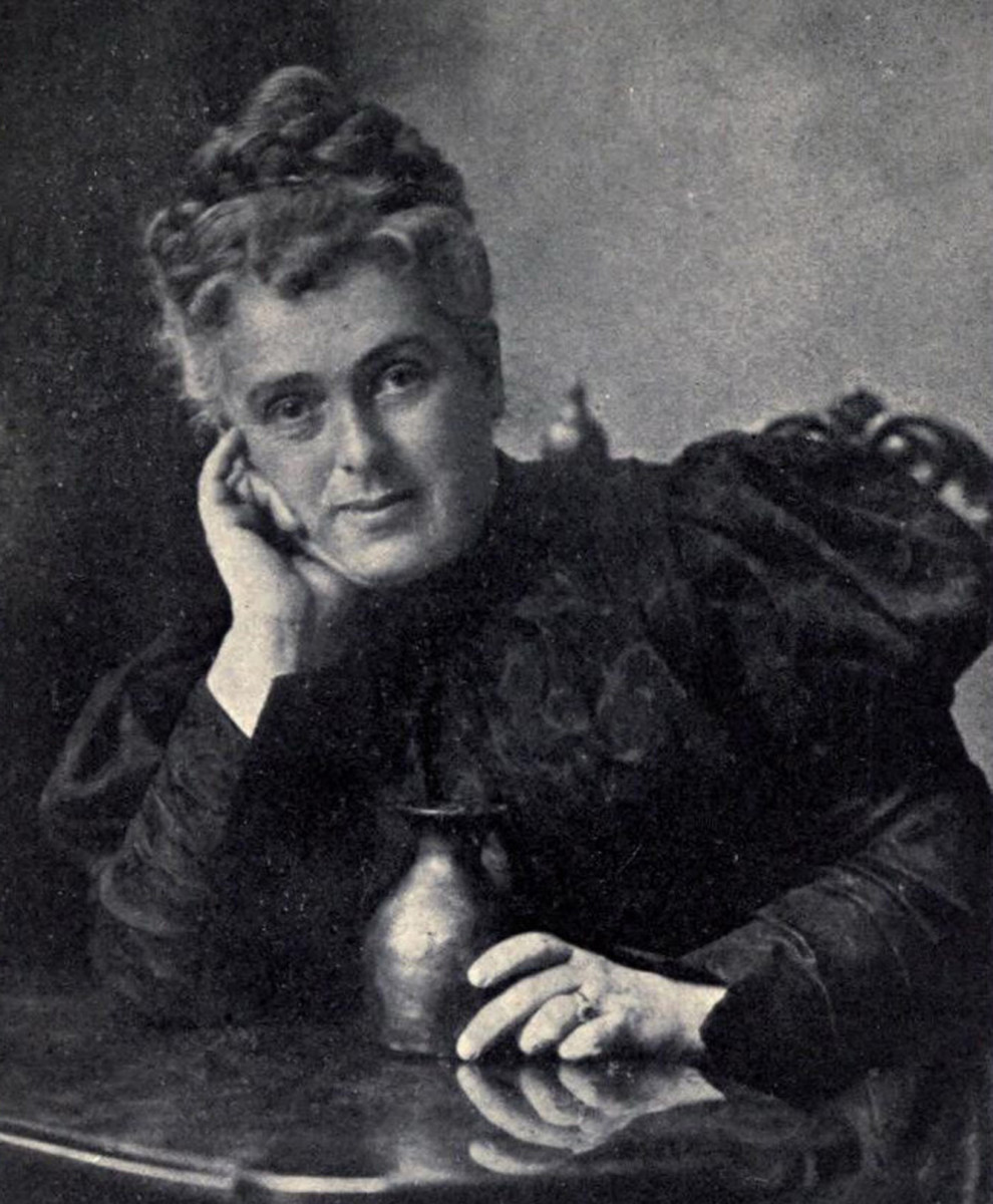 Maria Longworth Nichols Storer, the originator of Rookwood Pottery.