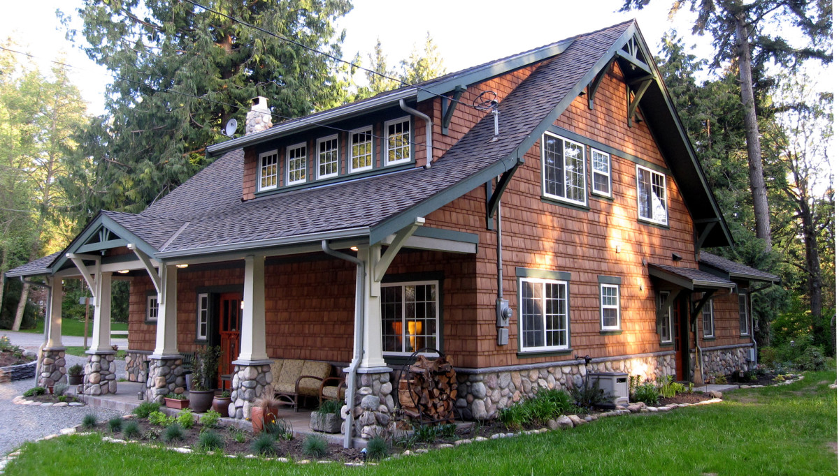Tiny Cabin To Craftsman Bungalow Arts Amp Crafts Homes And
