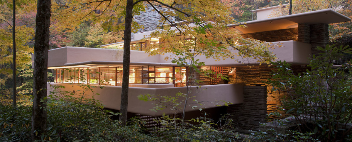 Fallingwater, Wright house