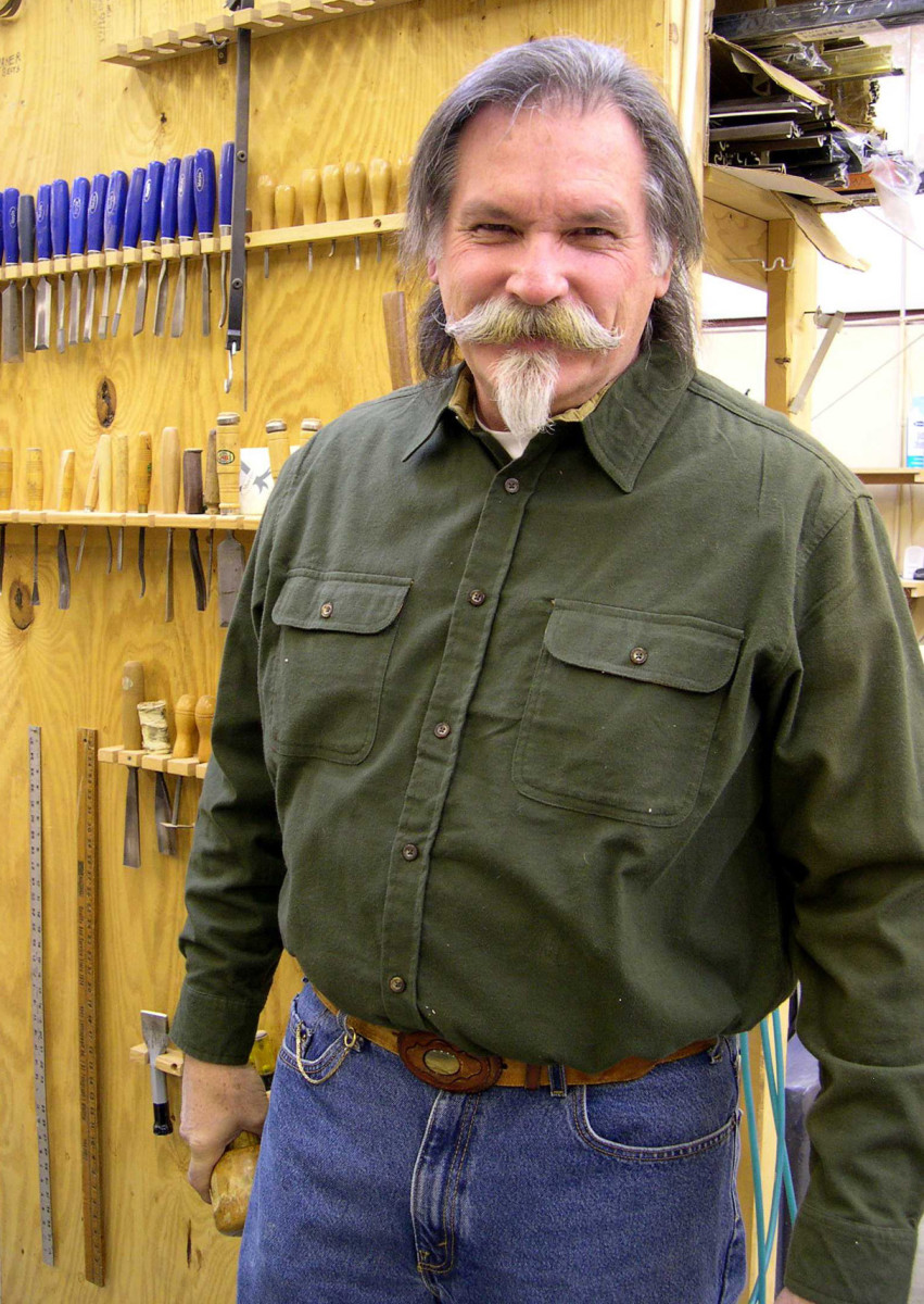woodworker Doug Christie