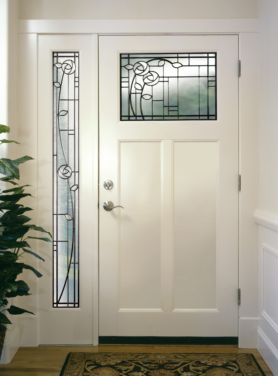Simpson door with sidelight, replacement door