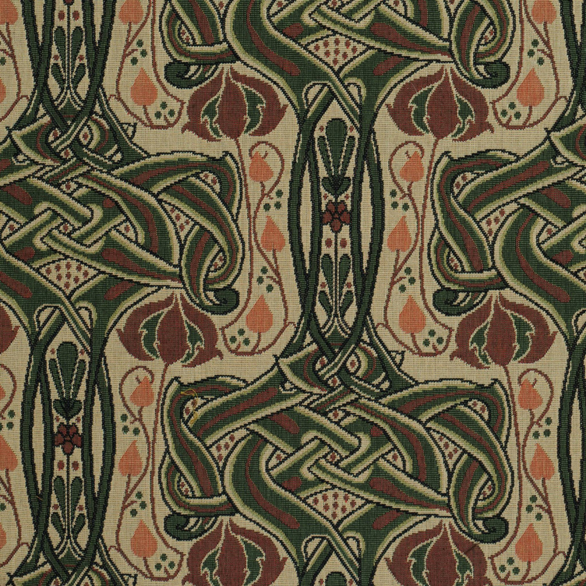 'Celtic Knot' is patterned after an antique fabric sample spotted at an antiques show.