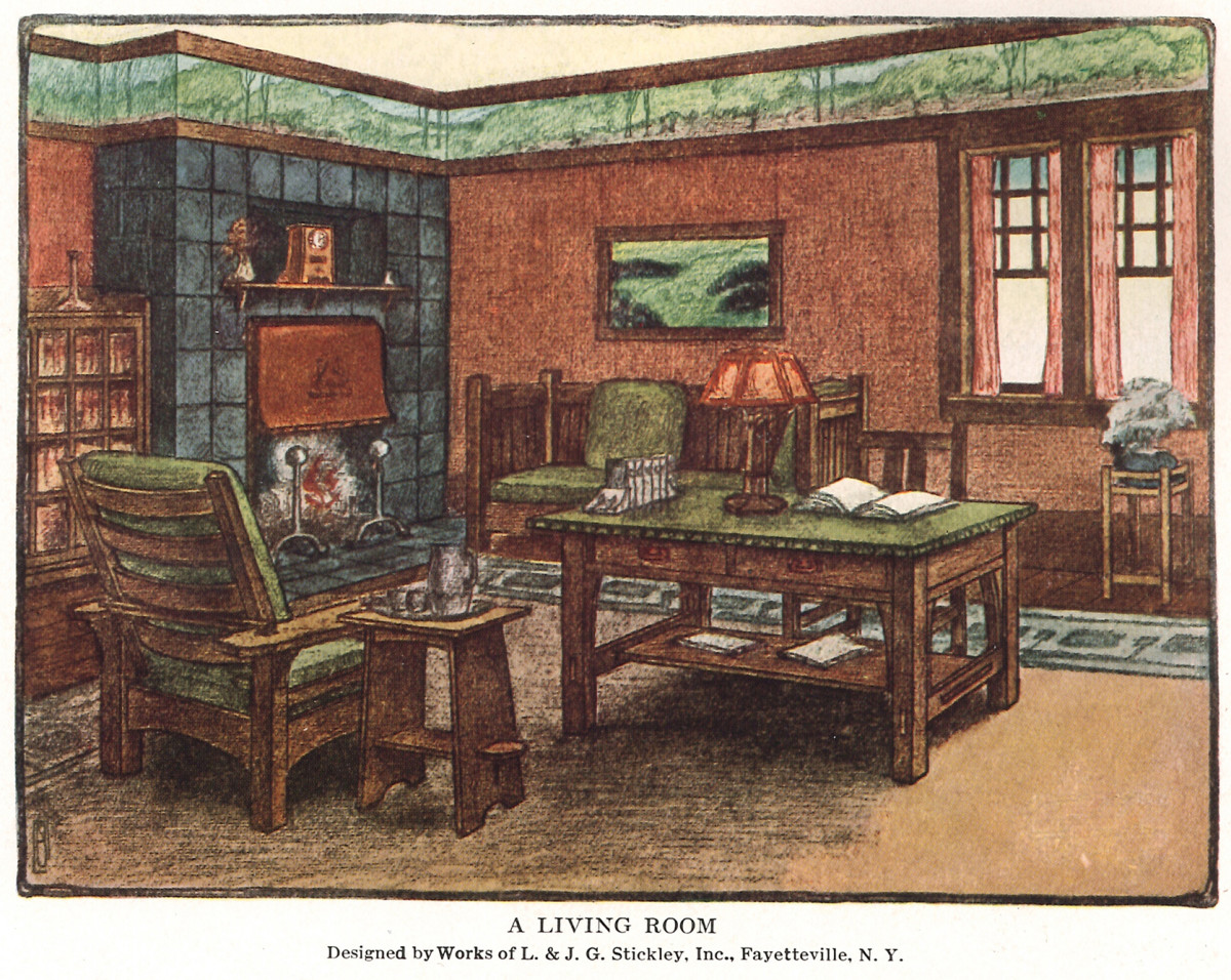 From The Archive A Living Room 1912