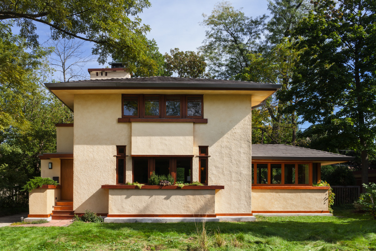 Frank Lloyd Wright designed home