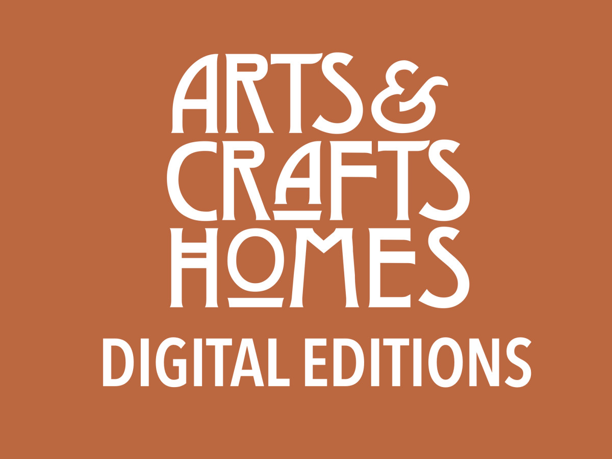 digital editions of arts & crafts homes