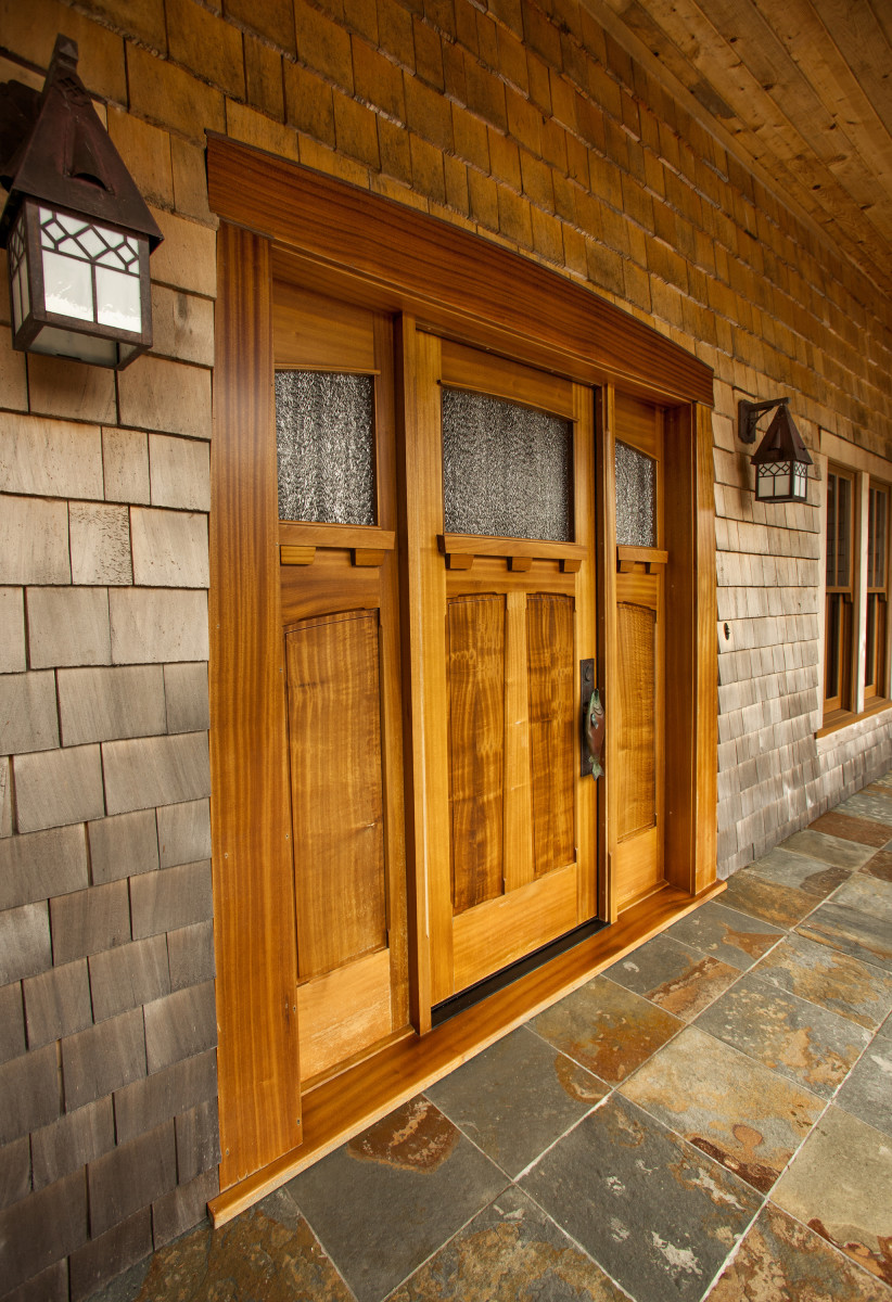 Craftsman Entry Doors, Arts & Crafts Doors