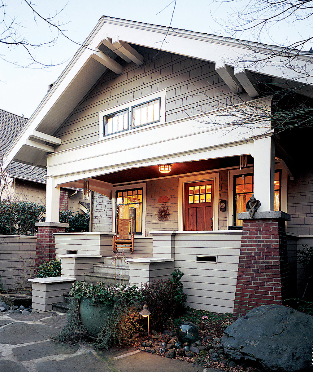 Seattle Craftsman House Arts & Crafts Bungalow