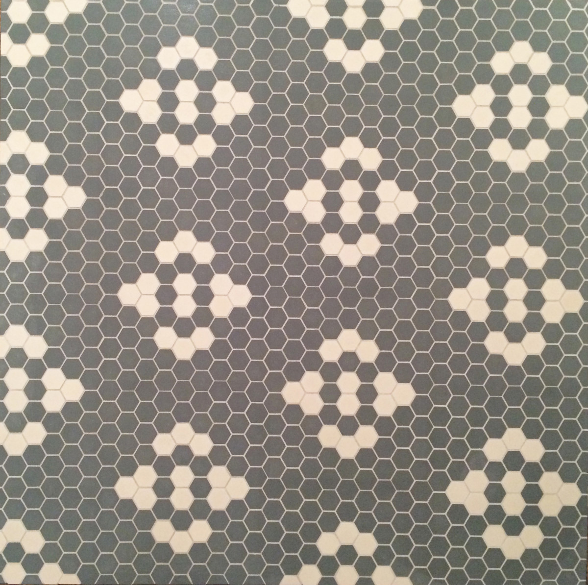 mosaic floor tile hex bath tile vintage floor tile