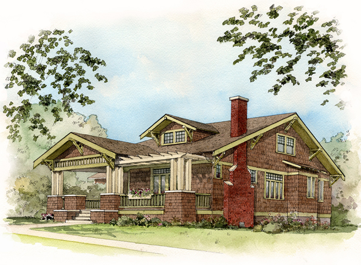 House styles bungalow design for the arts crafts - What is a bungalow house ...