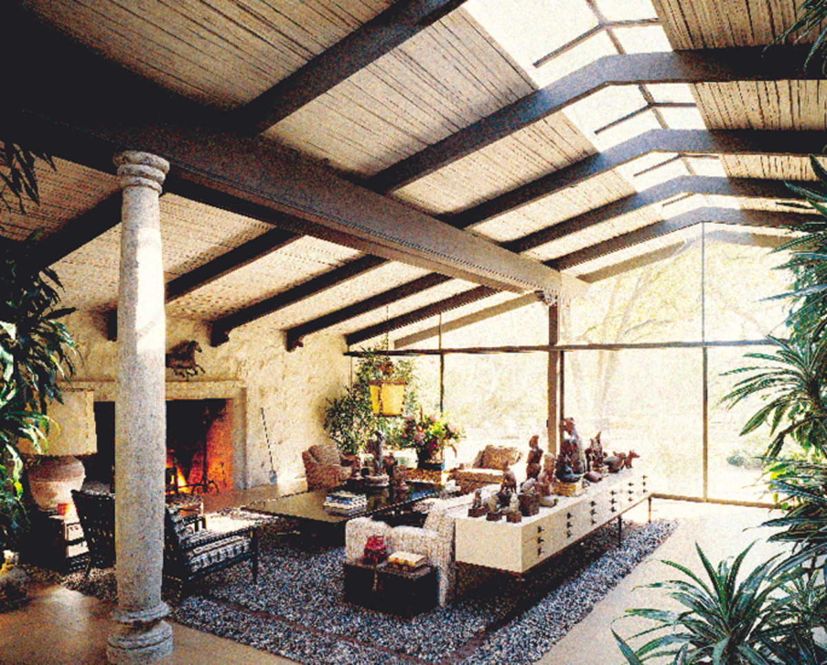 Ranch house interior