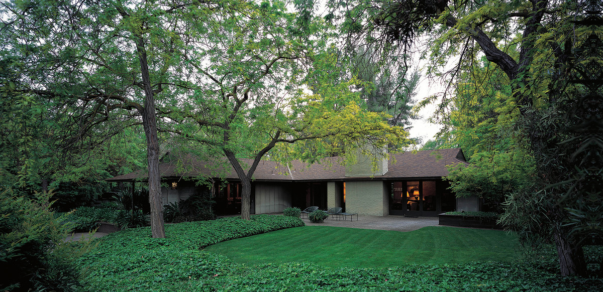 Harwell Hamilton Harris Ranch House 1956