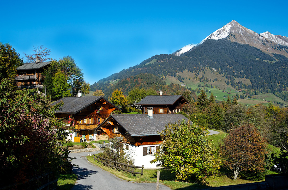 Swiss Architecture Chalet