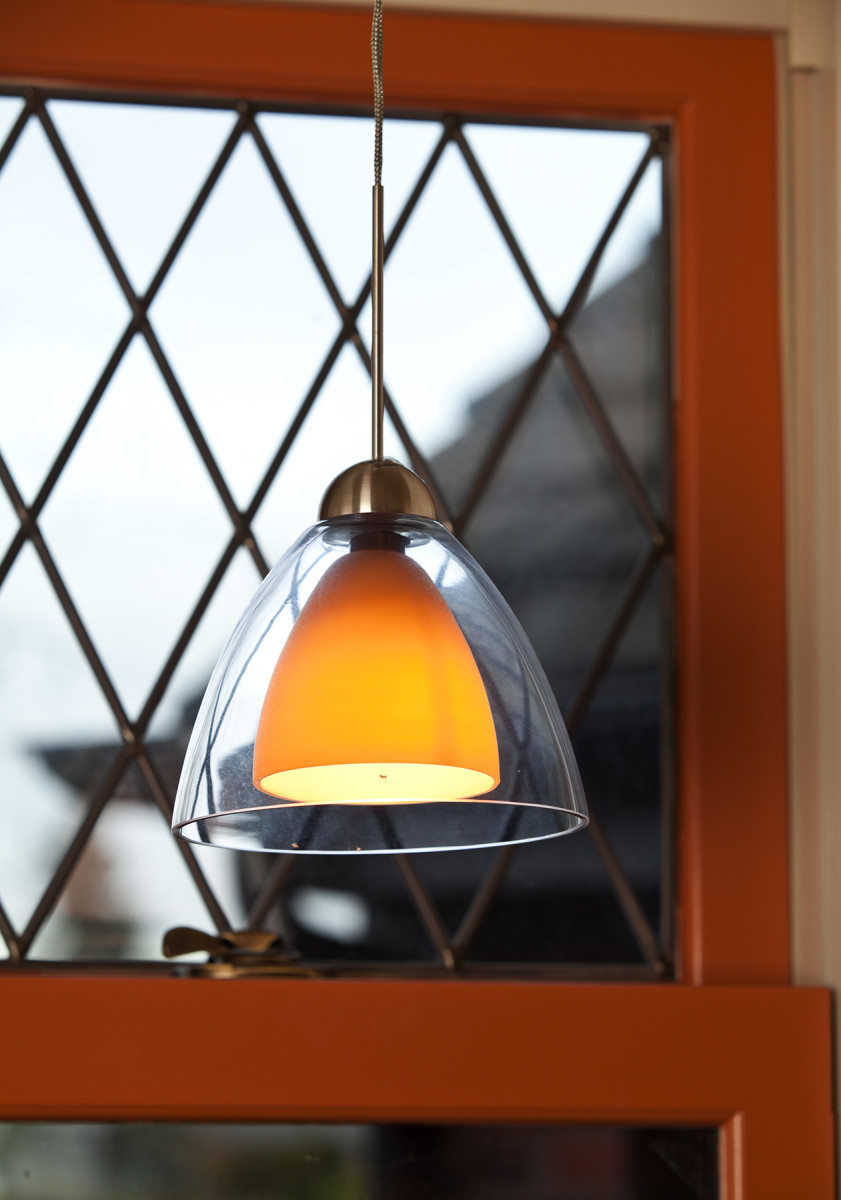 kitchen pendant light Tudor Revival