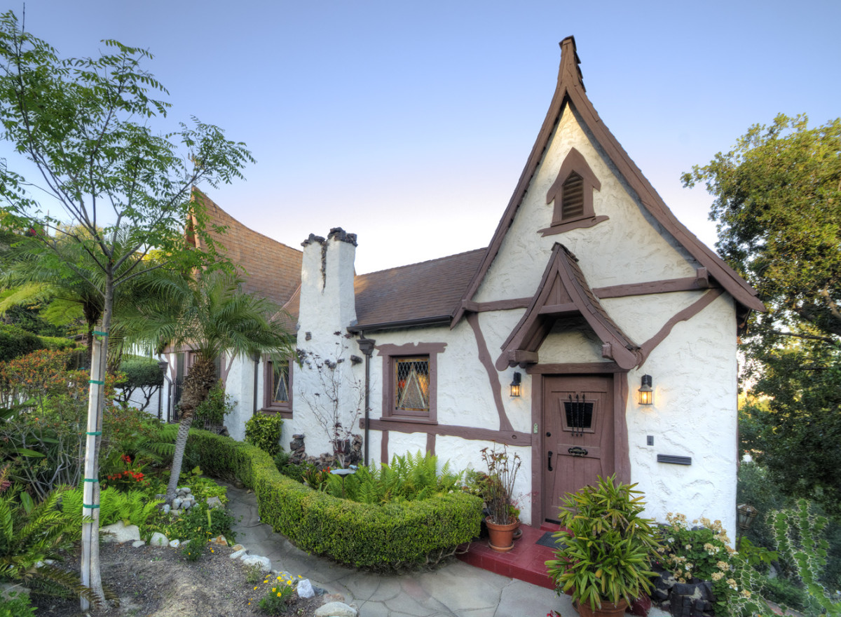 Hollywood Storybook style home 1923