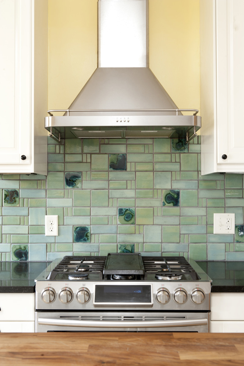 - Back Splash Progression - Design For The Arts & Crafts House