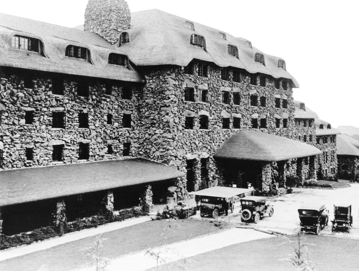 The Grove Park Inn was built in 1913.
