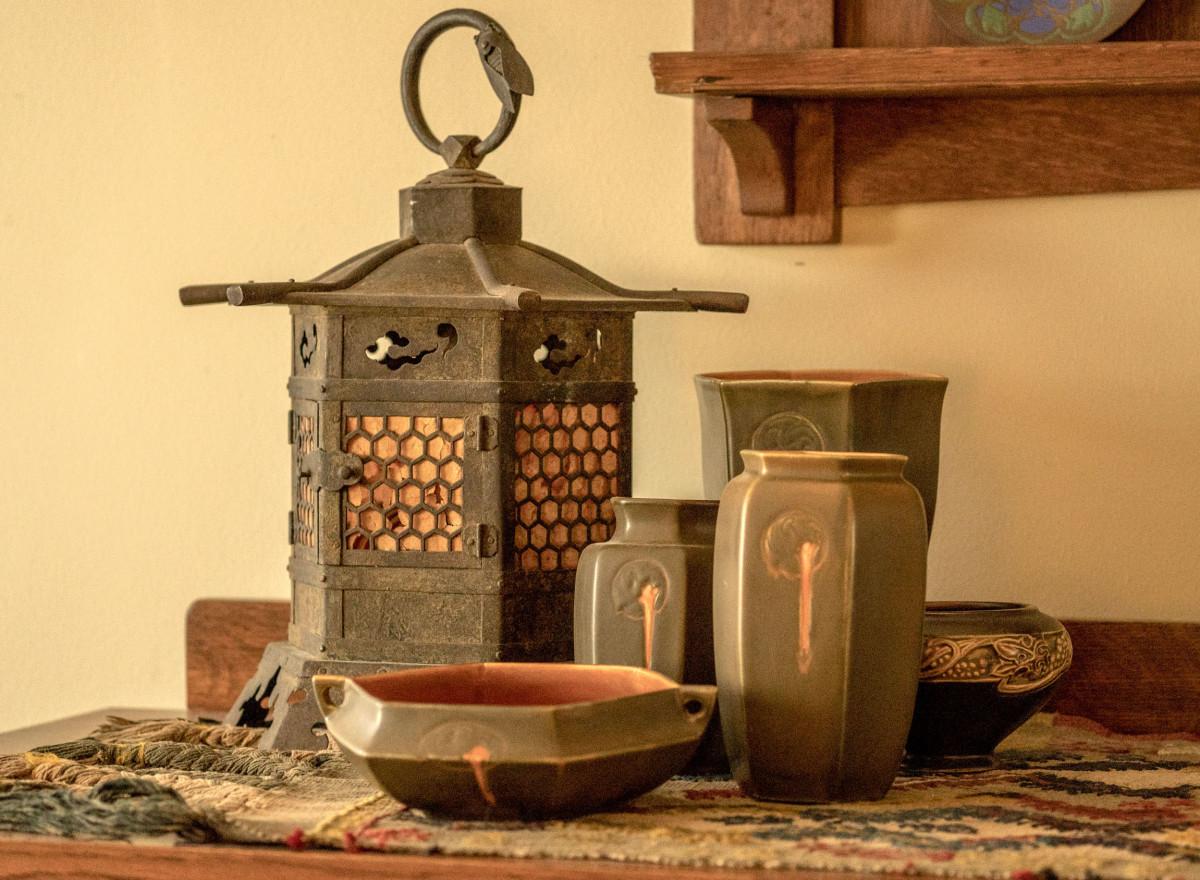 vintage Japanese lantern