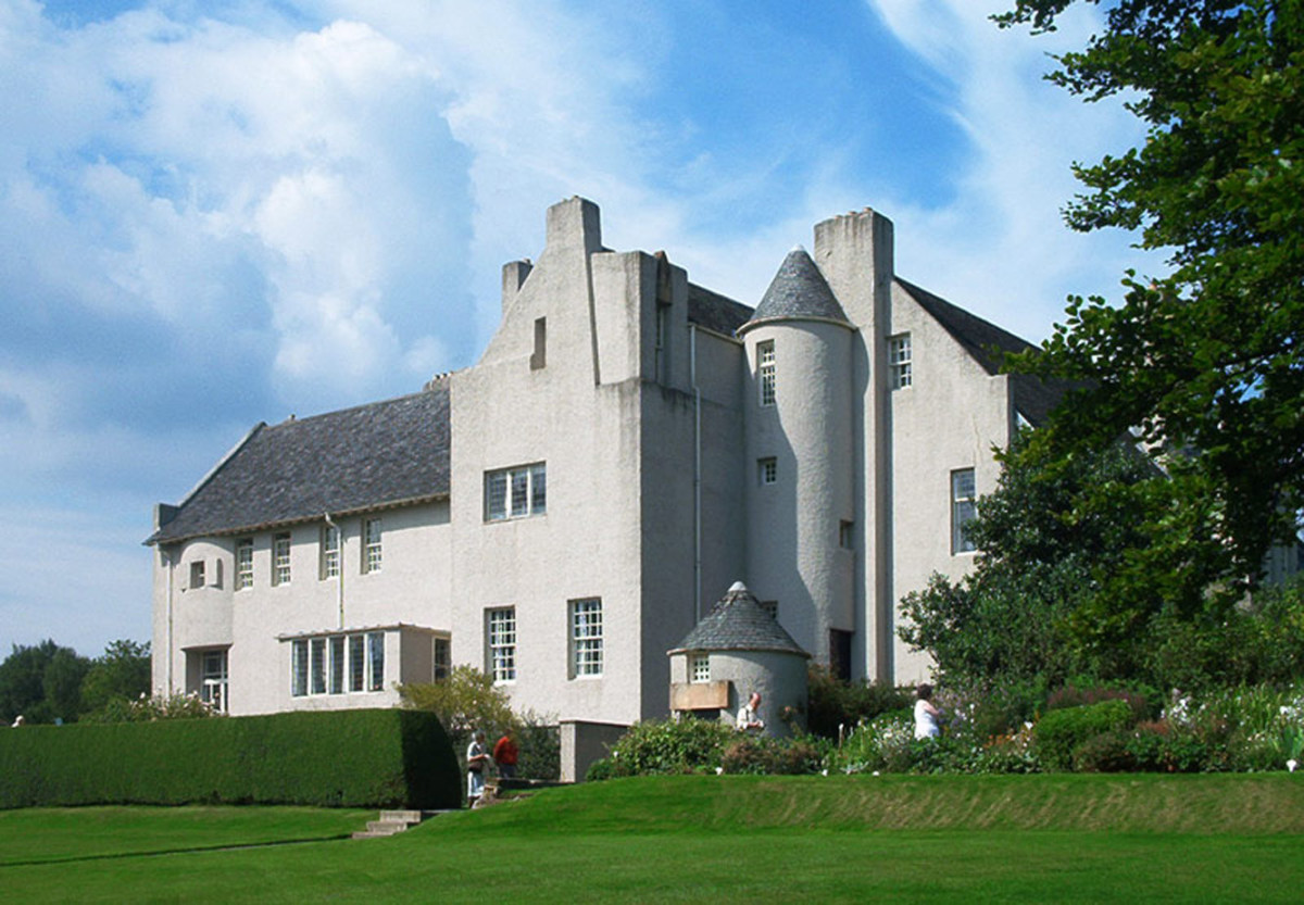 Mackintosh's Hill House, designed 1902–04.