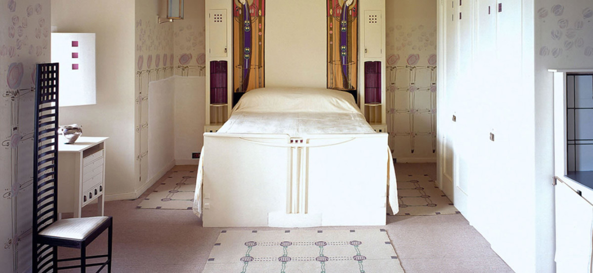Charles Rennie Mackintosh bedroom