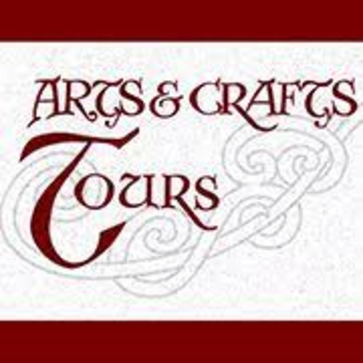 arts & crafts tours logo