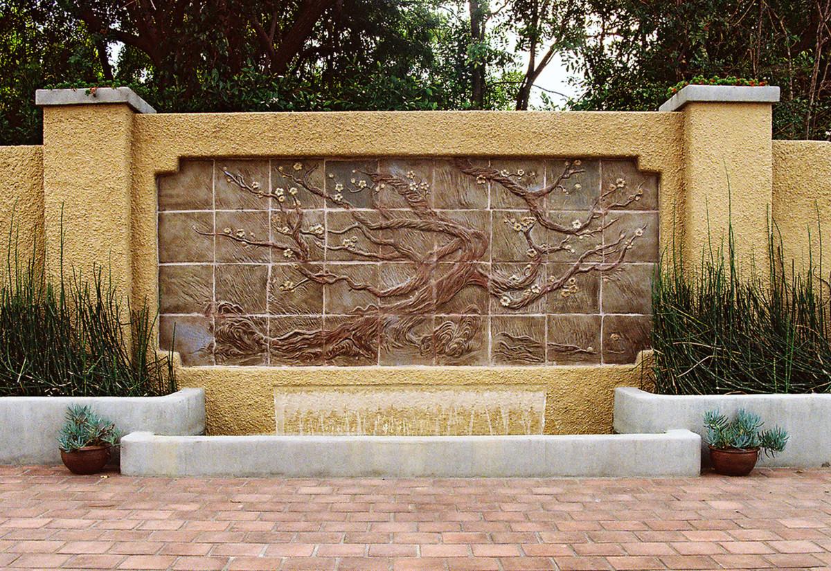 Tile Fountain by Pasadena Craftsman Tile.