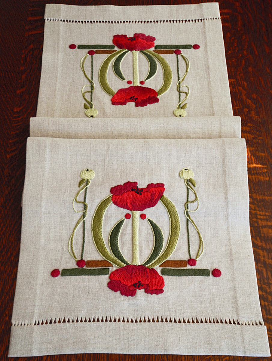 Arts & Crafts Textiles Embroidery