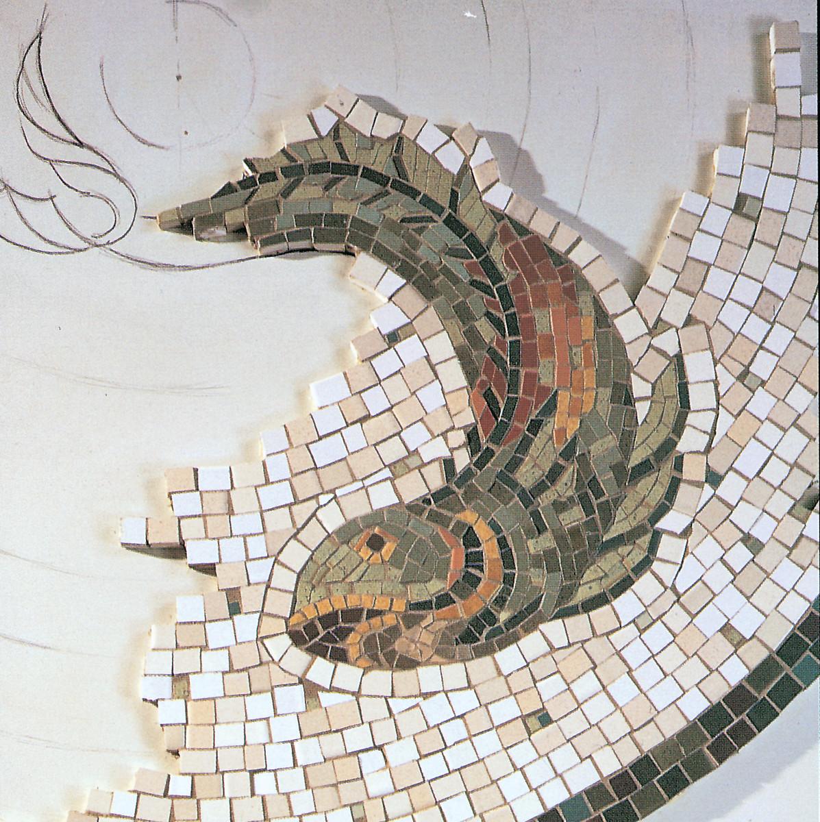 Mosaic tile by Ann Sacks.