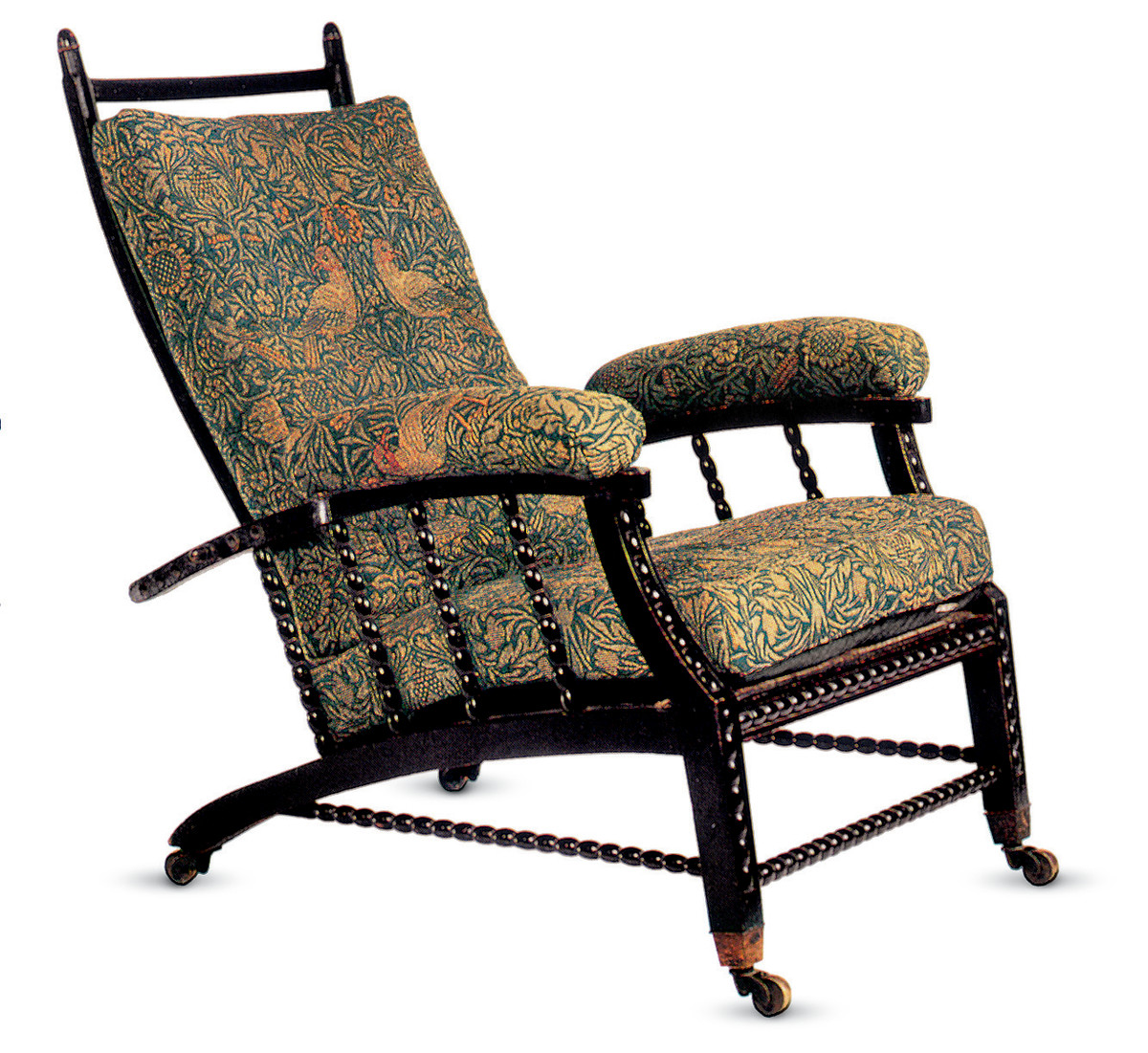 1865 Sussex England Morris Chair
