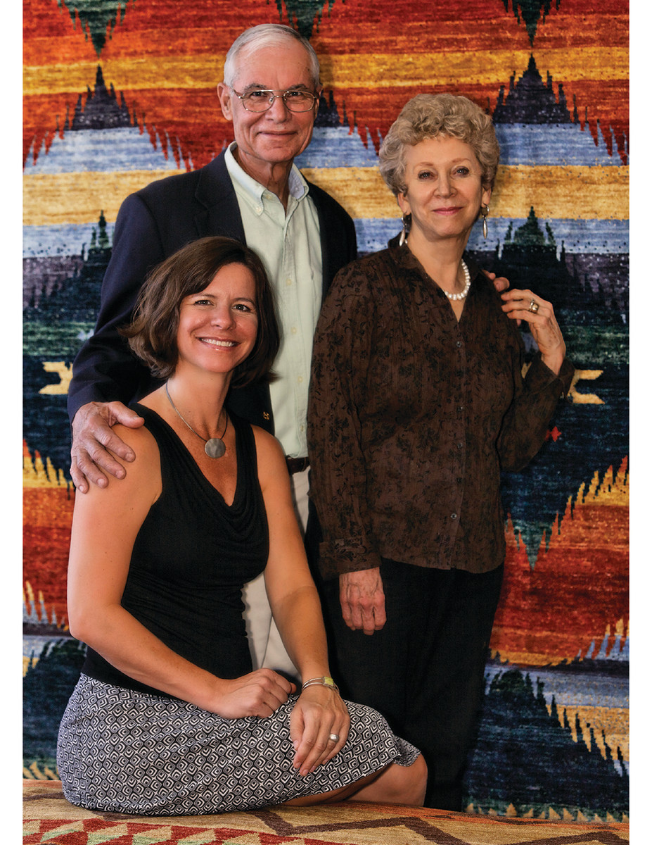 Doug and Nelda Lay and their daughter, Cynthia McLaren, run the show at The Persian Carpet, which has a retail store in North Carolina.