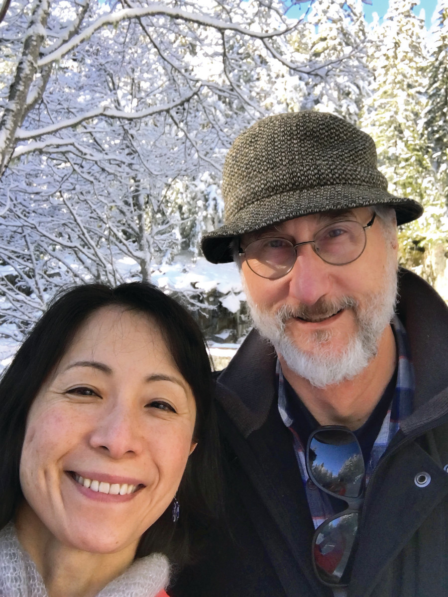 Yamamoto and her husband, Bruce Smith, are co-founders of The Arts & Crafts Press.