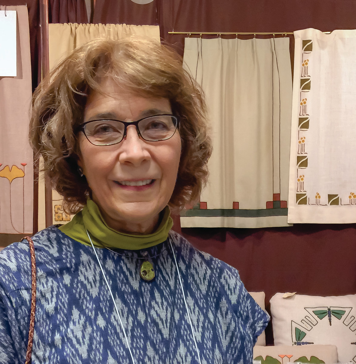 Dianne Ayres exhibits at the Arts & Crafts Conference at the Grove Park Inn in Asheville.