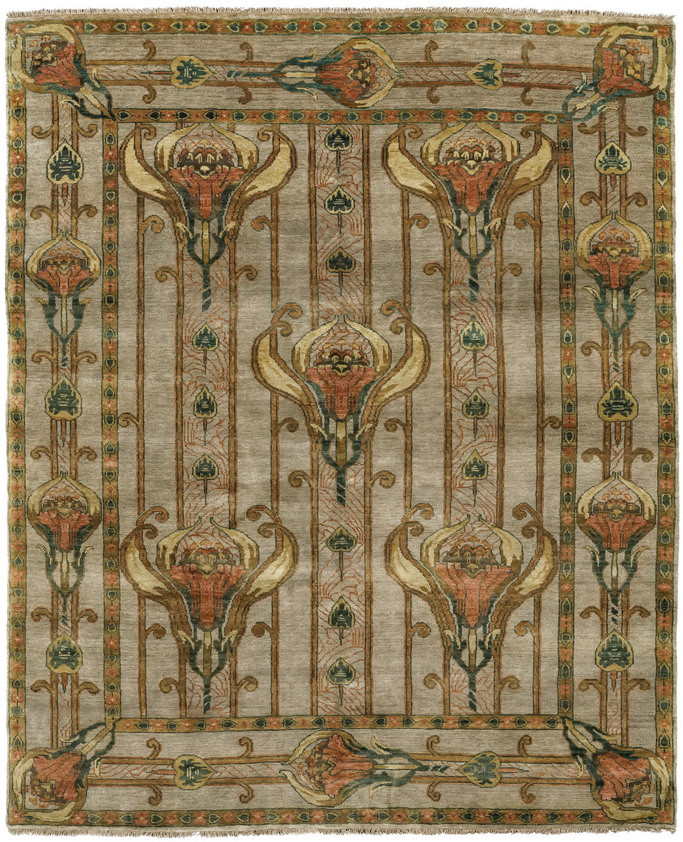 The Field Lilies, from the Arts & Crafts collection, is based on a period textile design by Archive Edition.
