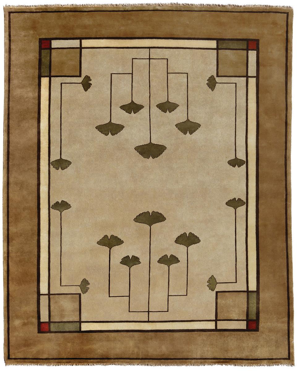 Ginkgo rug Persian Carpet Co