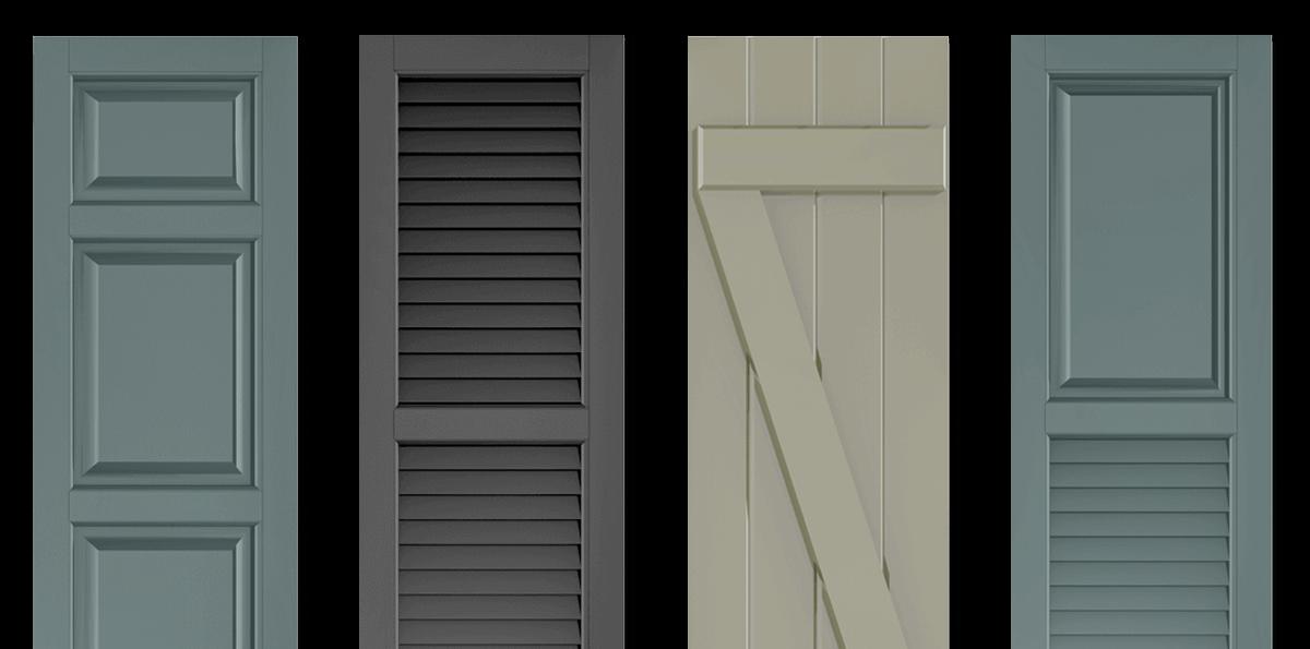 Adorned Openings Shutters